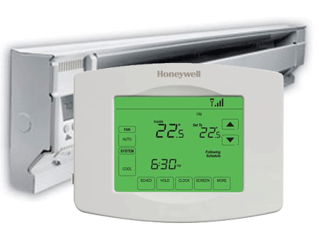 Insteon Zwave WIFI Thermostats With 120V 240V Baseboard
