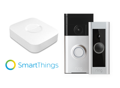 SmartThings Integration with Ring Video Doorbell and